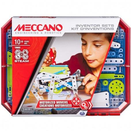 - KIT INVENZIONI CON MOTORE STEAM MECCANO SPIN MASTER 6047099/2