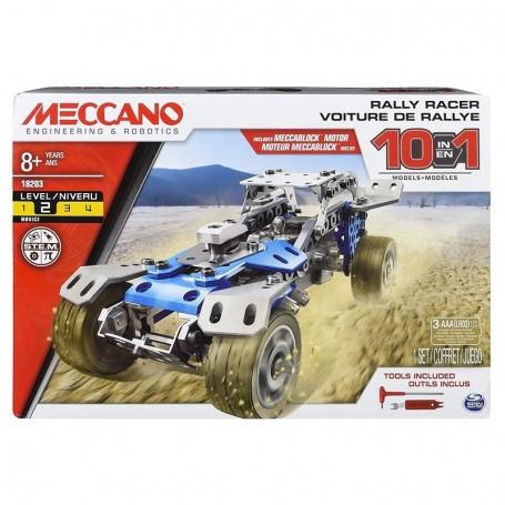 MECCANO MULTI MODELLO DA 10 VETTURE DA RALLY SPIN MASTER 6040178