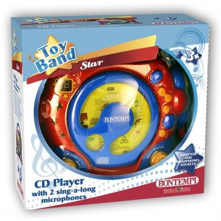 - LETTORE CD CON 2 MICROFONI BONTEMPI 439970 (@)