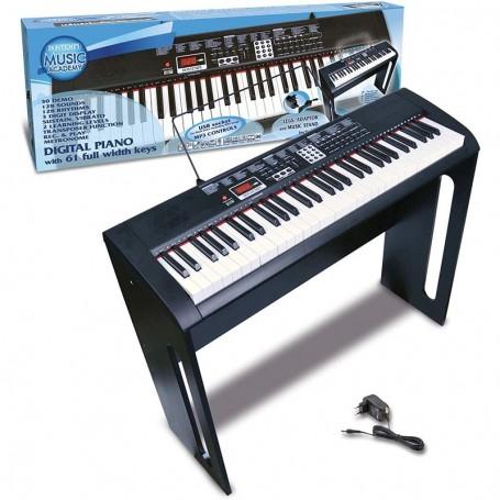 - PIANO DIGITALE 61 TASTI A PASSO PROFESSIONALE CON SEQUENCER E DISPLAY BONTEMPI 166130