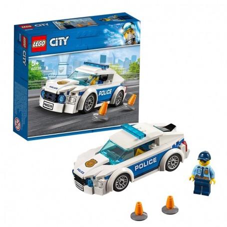 AUTO DI PATTUGLIA DELLA POLIZIA LEGO CITY 60239