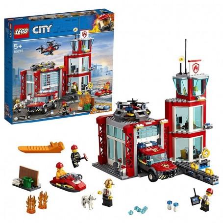 CASERMA DEI POMPIERI LEGO CITY 60215
