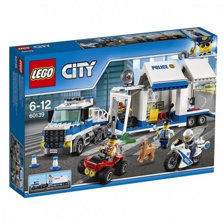 CENTRO DI COMANDO MOBILE LEGO CITY 60139