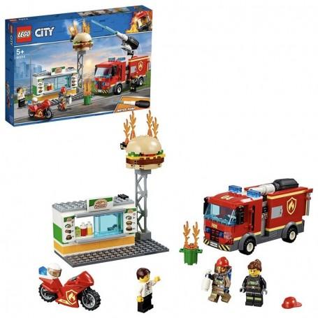 FIAMME AL BURGER BAR LEGO CITY 60214