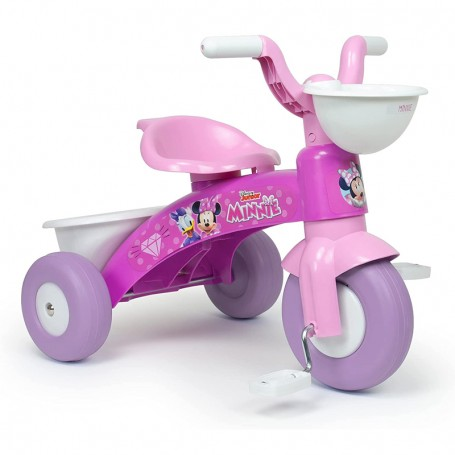 TRIKE BABY TRICO DISNEY MINNIE WITH FRONT AND REAR BASKET INJUSA 3531