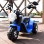 MOTO ELETTRICA PER BAMBINI BABY BLU 6V CON SUONI E LED LMT LT889
