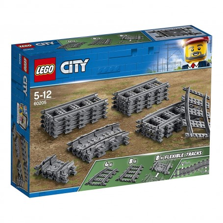 BINARI LEGO CITY 60205