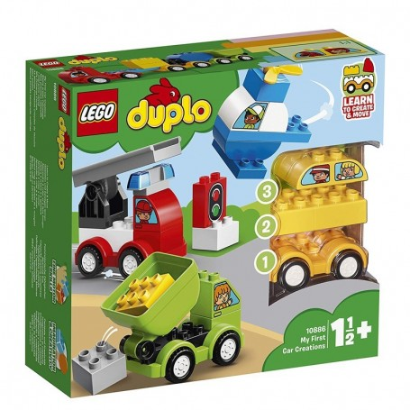 I MIEI PRIMI VEICOLI LEGO DUPLO 10886