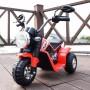 MOTO ELETTRICA PER BAMBINI BABY ROSSA 6V CON SUONI E LED LMT LT889/236