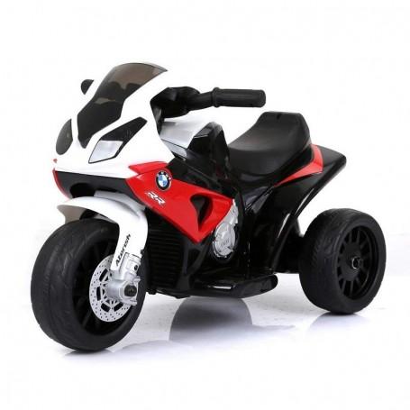- MOTO ELETTRICA PER BAMBINI BMW S1000 RR ROSSA A 3 RUOTE CON SUONI E LED LMT LT883/236