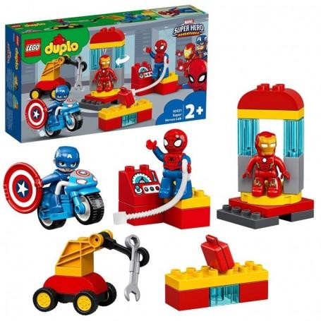 IL LABORATORIO DEI SUPEREROI LEGO DUPLO MARVEL SUPERHERO ADVENTURES 10921/12