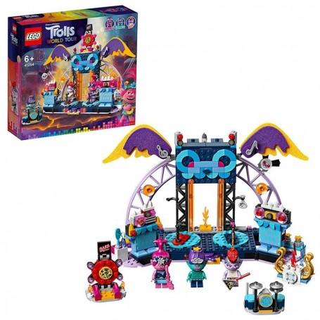 CONCERTO A VULCANO ROCK CITY LEGO TROLLS WORLD TOUR 41254/1