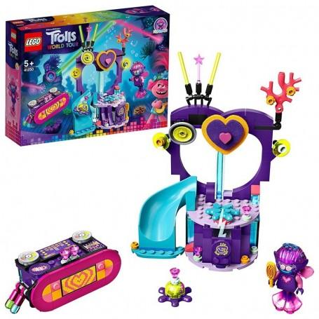 FESTA TECHNO ALLA BARRIERA CORALLINA LEGO TROLLS WORLD TOUR 41250/12