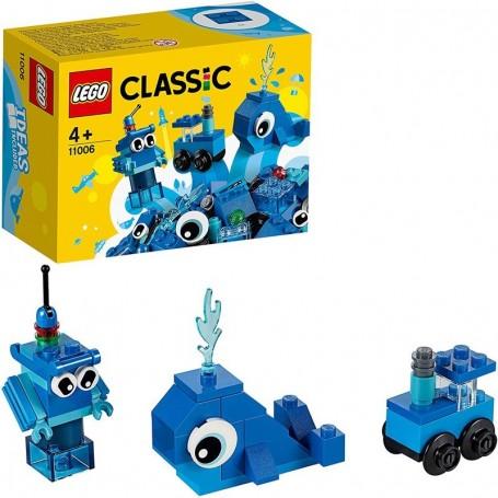 MATTONCINI BLU CREATIVI LEGO CLASSIC 11006/24