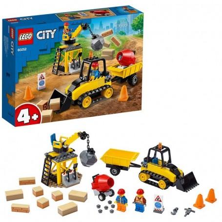 BULLDOZER DA CANTIERE LEGO CITY 60252/12