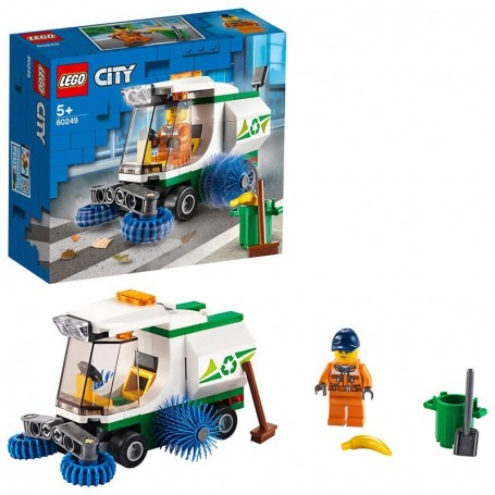 CAMIONCINO PULIZIA STRADE LEGO CITY 60249/24