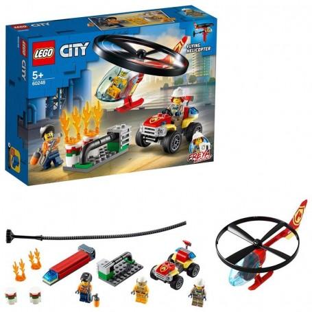ELICOTTERO DEI POMPIERI LEGO CITY 60248/12
