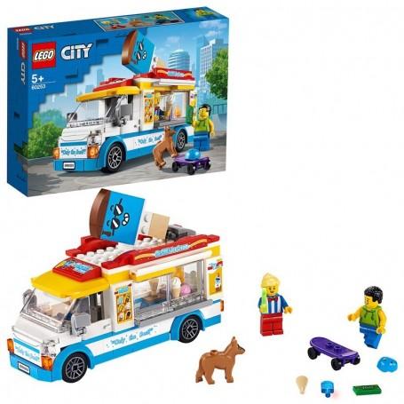 FURGONE DEI GELATI LEGO CITY 60253/12