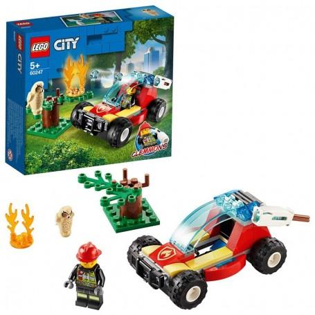 INCENDIO NELLA FORESTA LEGO CITY 60247/24