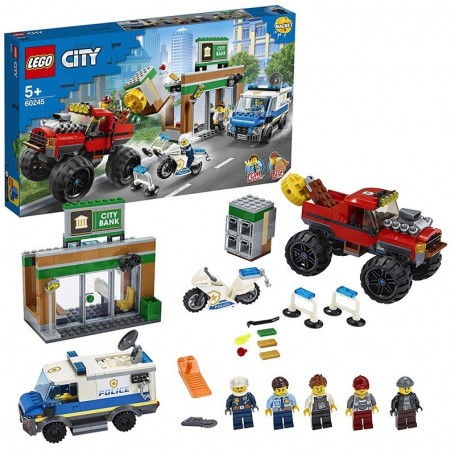 RAPINA SUL MONSTER TRUCK LEGO CITY 60245/1