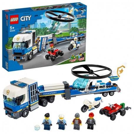 TRASPORTATORE DI ELICOTTERI DELLA POLIZIA LEGO CITY 60244/12