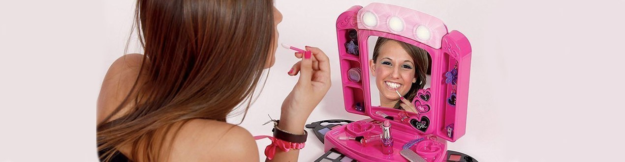 Makeup and jewels