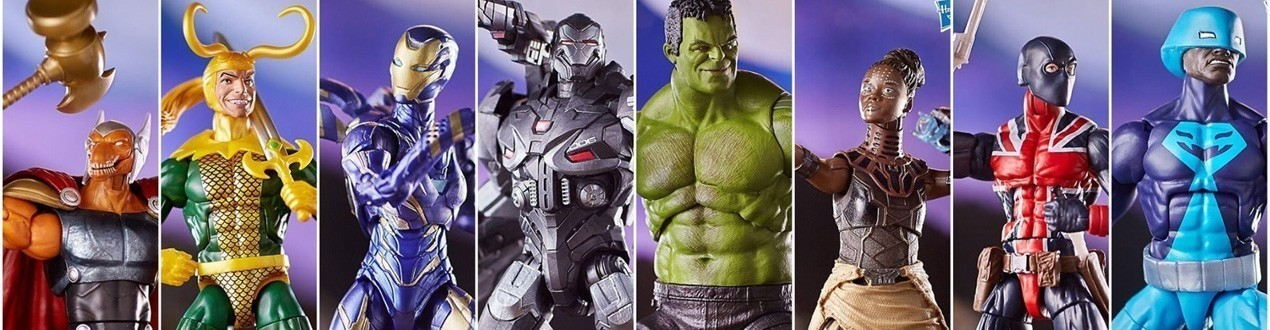 Action Figures, Characters and Playsets