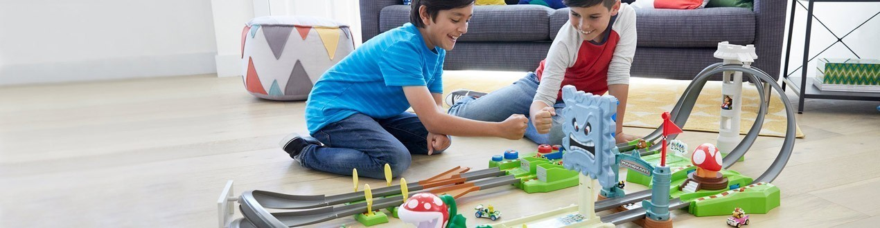 Vehicles, Playsets and Tracks